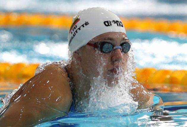 Championne olympique et du monde de brasse,Ruta Meilutyte met fin à sa carrière de