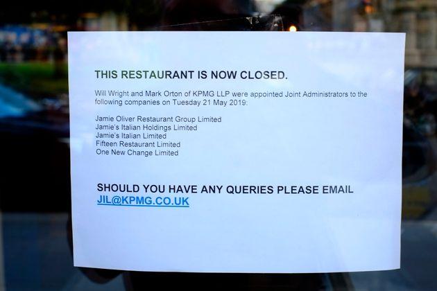 Γιατί κατέρρευσε η «αυτοκρατορία» εστιατορίων του Τζέιμι