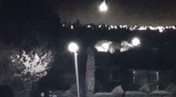 Il video del meteorite che ha illuminato a giorno il cielo notturno