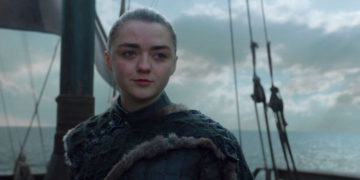 Arya sailed off into the distance