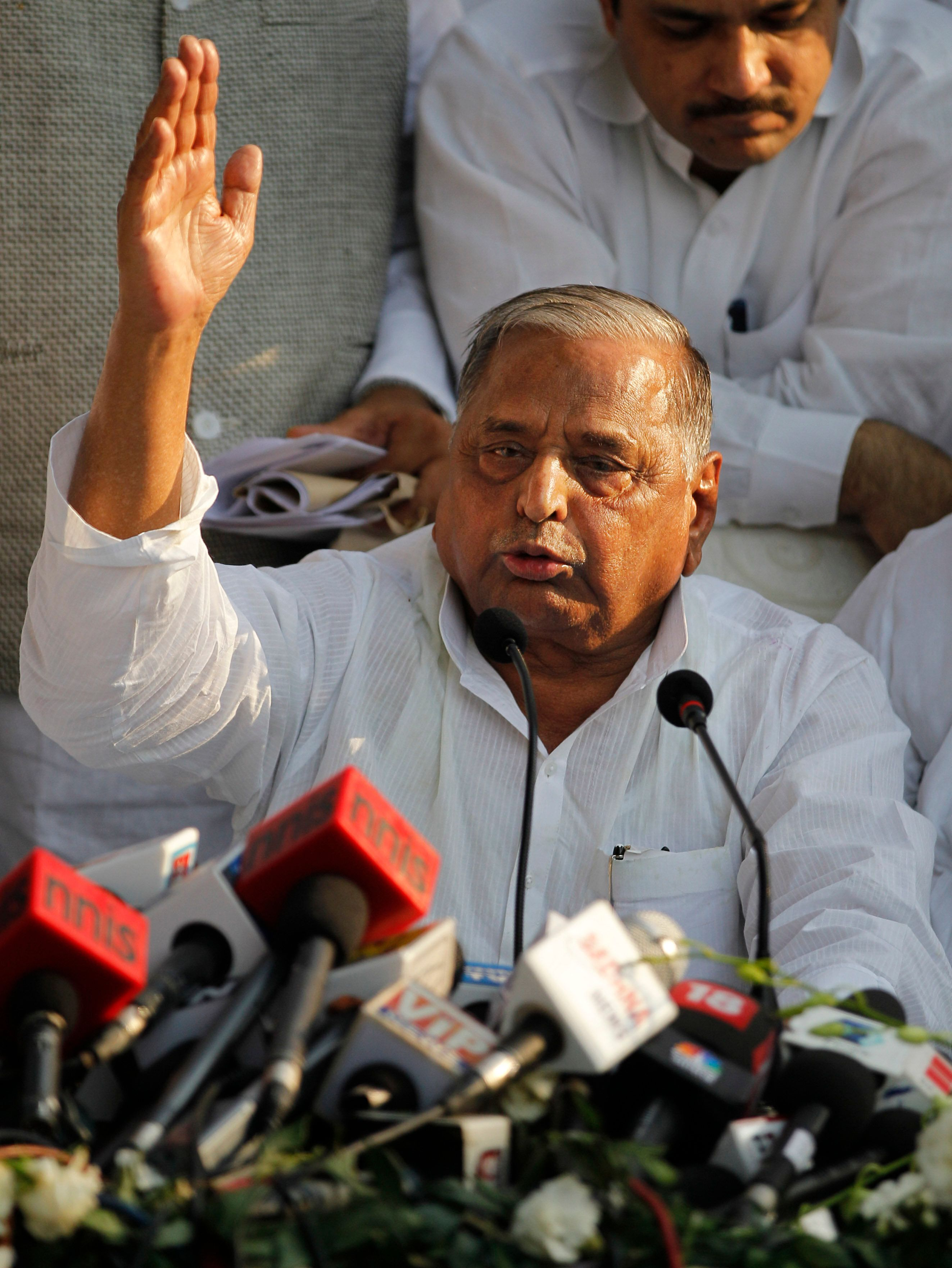 Election Results 2019: Mulayam Singh Yadav Leading From