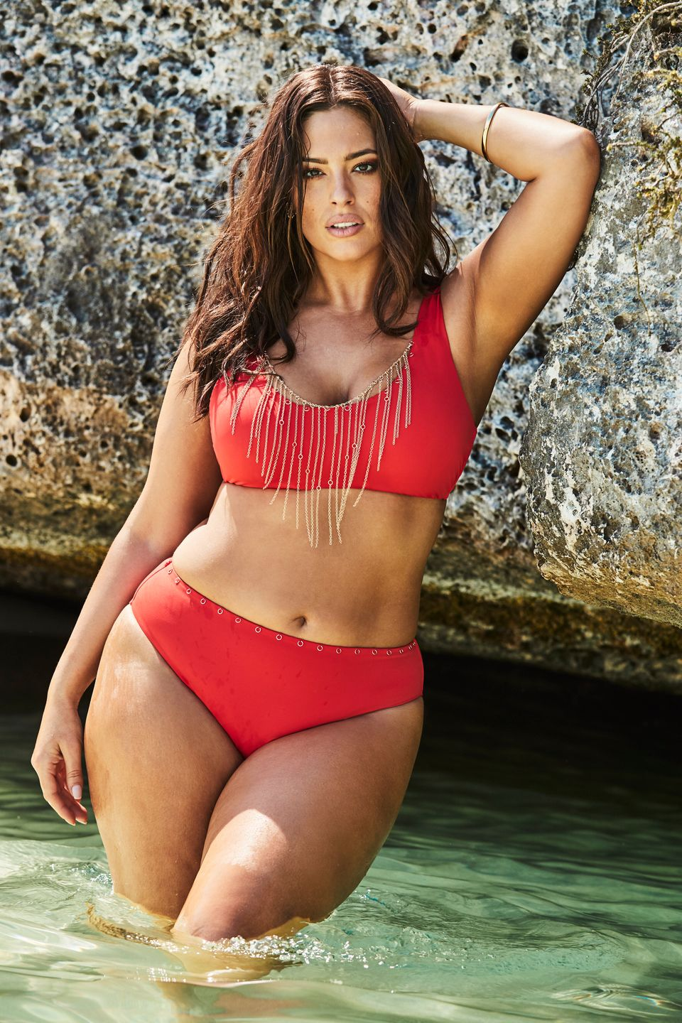 28c53bad45 ... Gala One-Shoulder One-Piece Swimsuit. 2. Swimsuits For All x Ashley  Graham