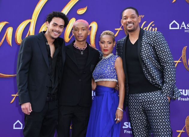 Jada Pinkett Smith Is A Better Genie Than Will Smith On 'Aladdin' Red