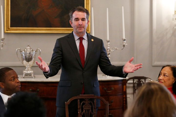 Virginia Gov. Ralph Northam has faced calls to resign after the photo was discovered on his medical school's yearbook page.