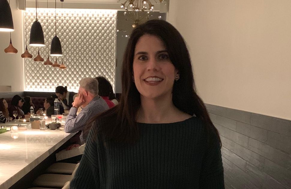 Katie C. Reilly on her birthday (February 2019). She and her husband, Peter, had found out that she was pregnant earlier that
