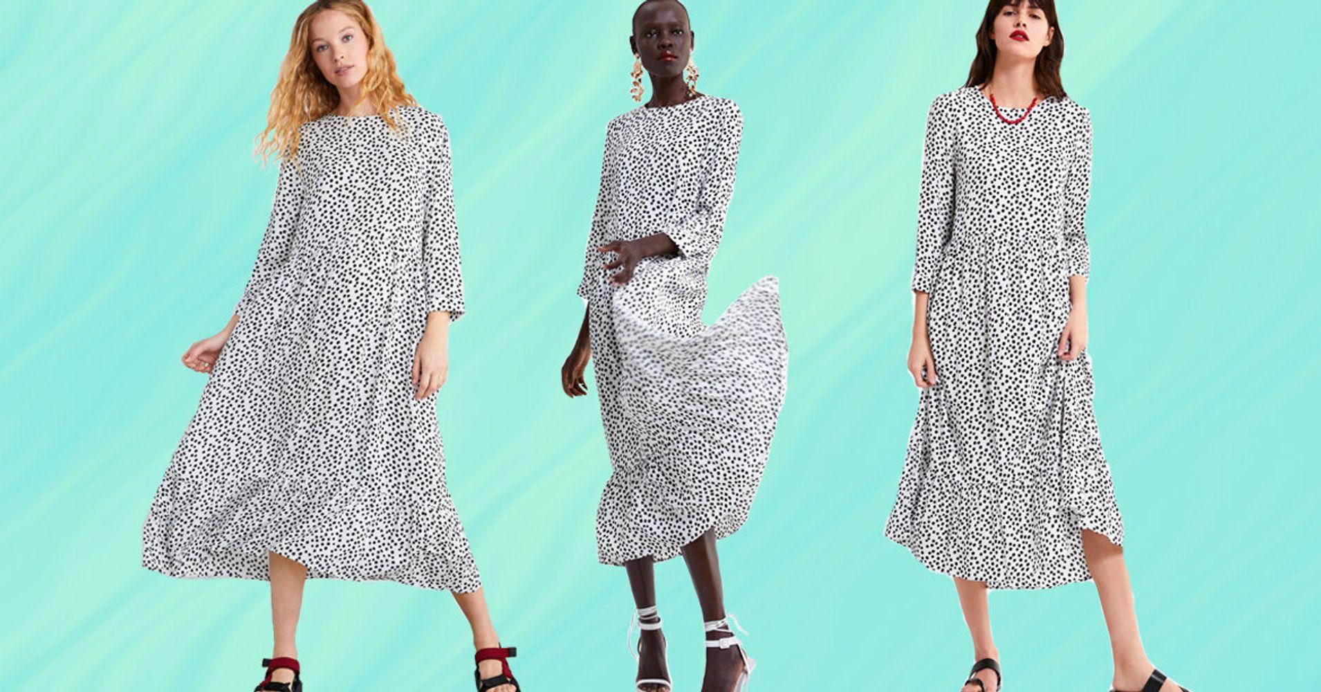 71cf9c9c7c Love That Polka-Dot Zara Dress? Here Are 9 Drop Hem Alternatives To Buy