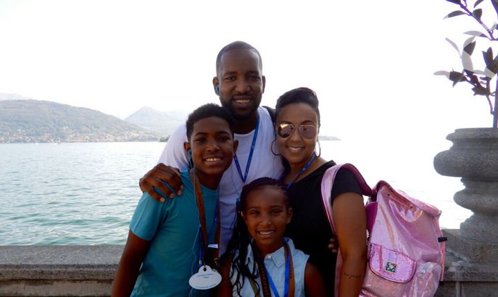 Last summer we took our two kids, Michael II and Ardyn, to Lake Como, Italy.