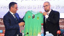 Pour ses maillots de la CAN, la sélection mauritanienne opte pour un équipementier