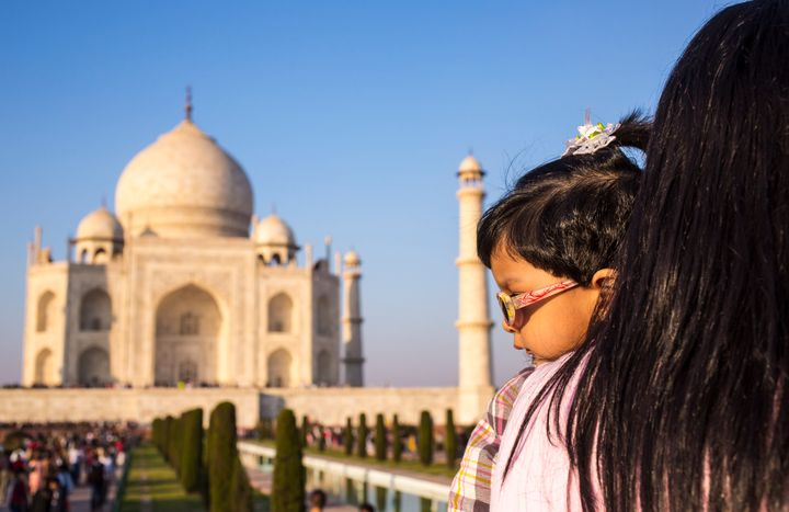 The Taj Mahal will be one of three Indian monuments getting nursing rooms this summer.