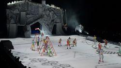 Cirque du Soleil: spectacle sur glace à l'automne au