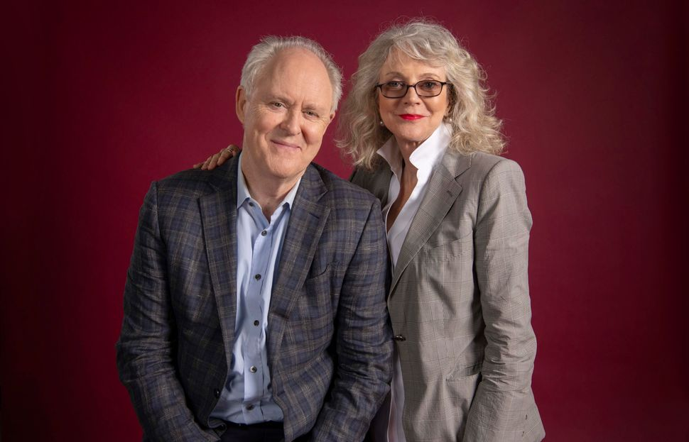 "In the new romantic dramedy ""The Tomorrow Man,"" John Lithgow and Blythe Danner star as neurotic loners who fall i"