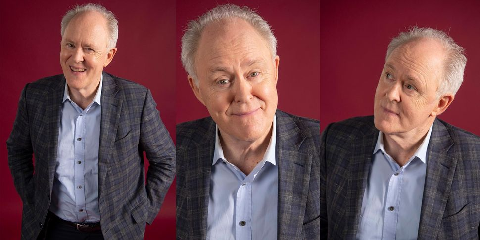 """I make a deal with directors,"" Lithgow says. ""I tell every one of them upfront, 'I'm going to be very excessive right"
