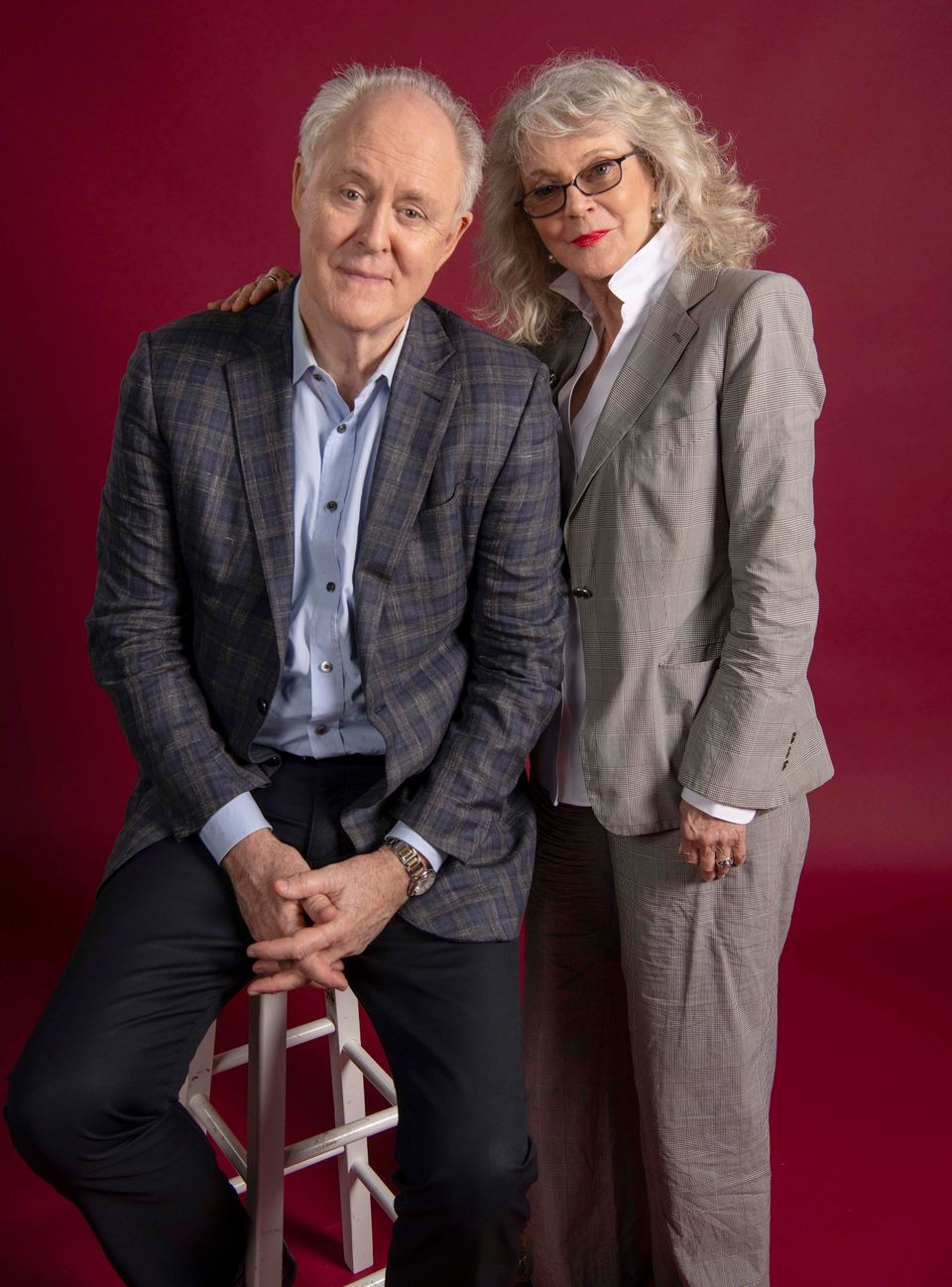 John Lithgow And Blythe Danner, Friends Till The End Of The