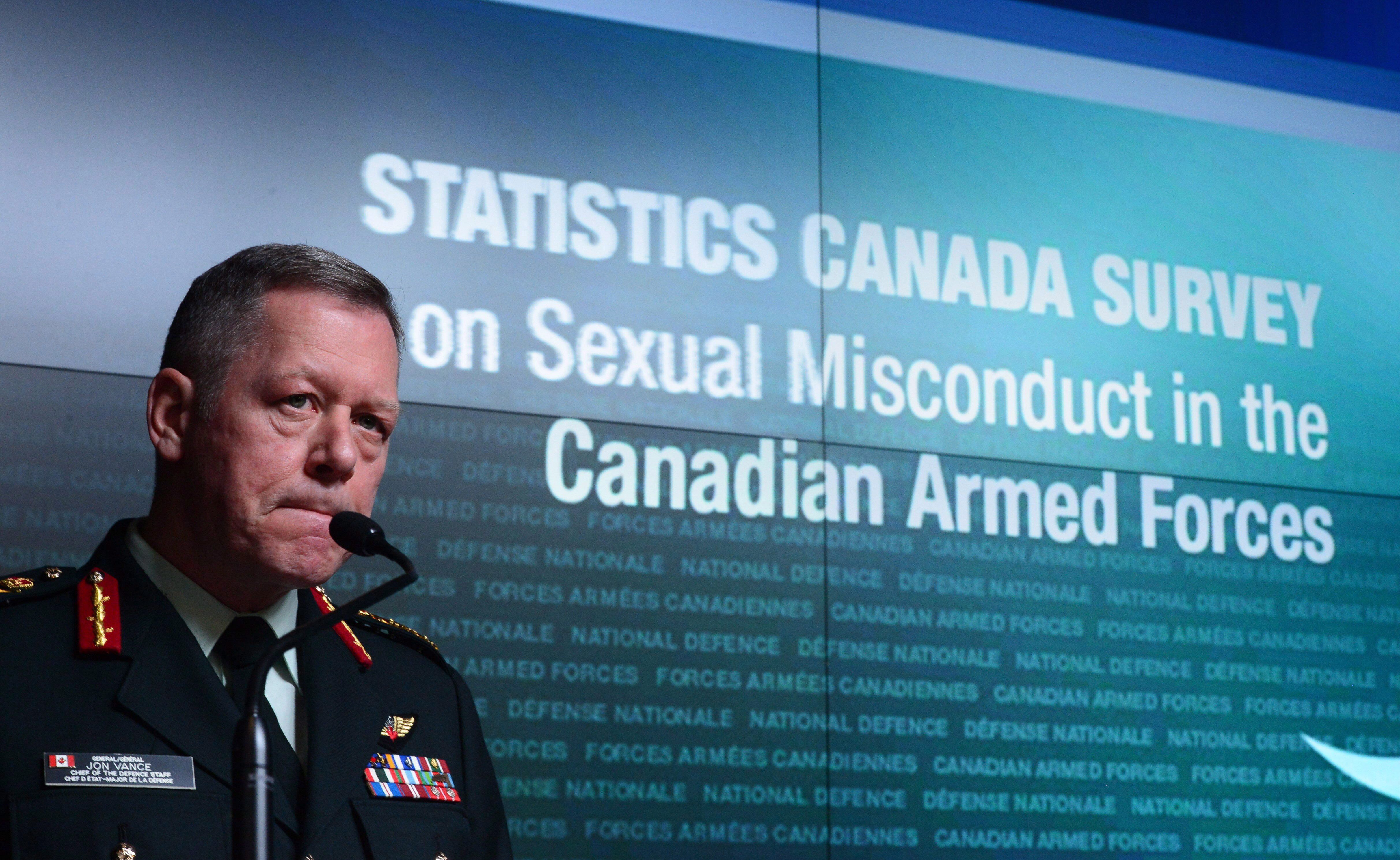 Canadian Military Has Made Minimal Progress On Sexual Misconduct Issue: Statistics Canada