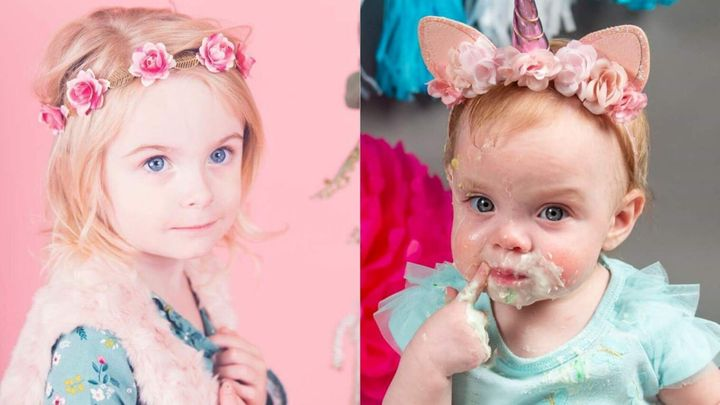 Hope, âgée de 4 ans (à gauche), et Emme, âgée de 14 mois, ne peuvent pas se rencontrer, même si leurs mamans sont de bonnes amies.