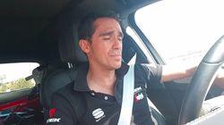Alberto Contador como nunca lo habías