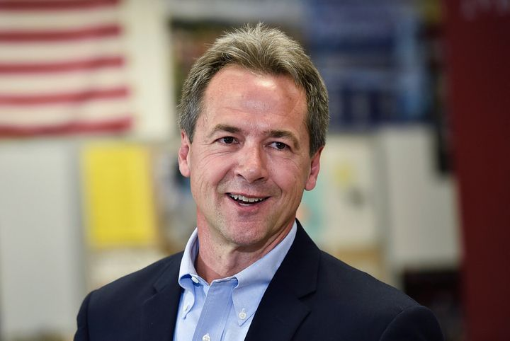 Steve Bullock is the only Democratic candidate who won a statewide office in a state that went for Trump in 2016.