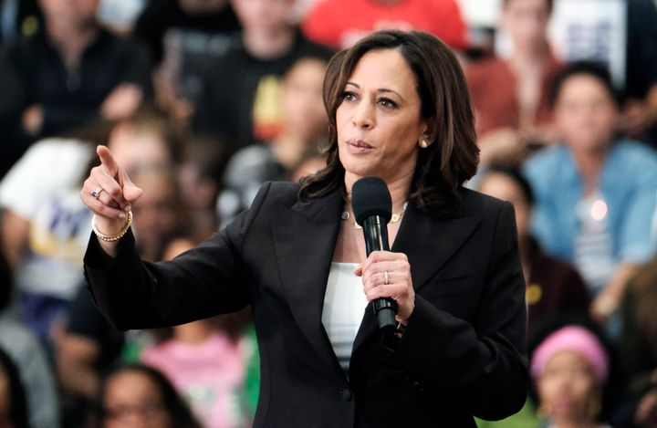 Kamala Harris gained national attention for her tough questioning of Supreme Court Justice Brett Kavanaugh during his Senate