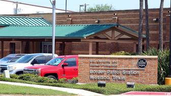 This May 20, 2019 photo shows the Border Patrol Station in Weslaco, Texas. The U.S. government says a 16-year-old from Guatemala died at the Border Patrol station, becoming the fifth death of a migrant child since December. U.S. Customs and Border Protection said in a statement that Border Patrol apprehended the teenager in South Texas' Rio Grande Valley on May 13. The agency says the teenager was found unresponsive Monday morning during a welfare check. (Joel Martinez/The Monitor via AP)