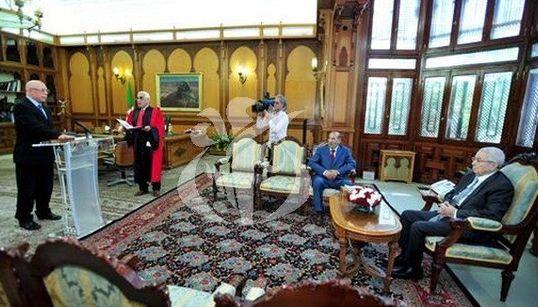 Un nouveau membre du Conseil constitutionnel prête serment devant