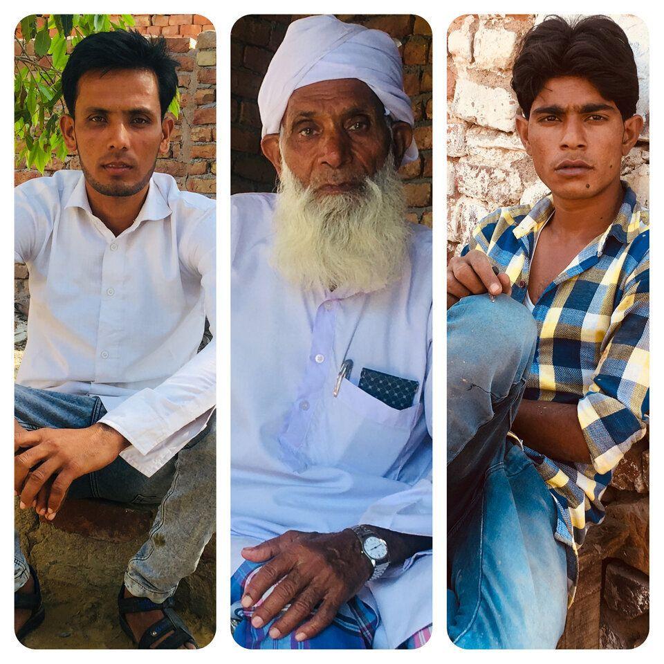 Muslim dairy farmers of Haryana.