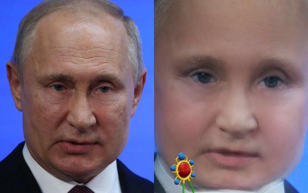 블라디미르 푸틴 러시아