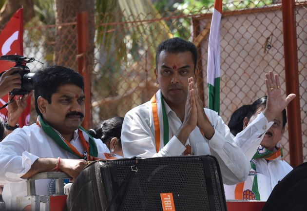 Milind Deora in a file