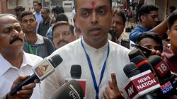 Milind Deora Trailing From Mumbai South By 15,102 Votes Against Sena's Arvind