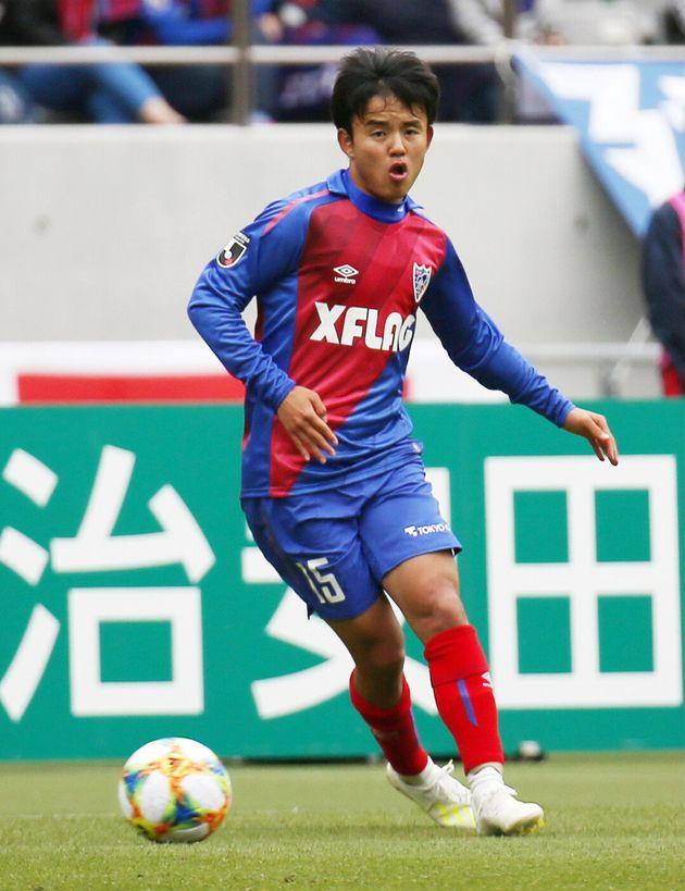 FC東京に所属する久保建英選手