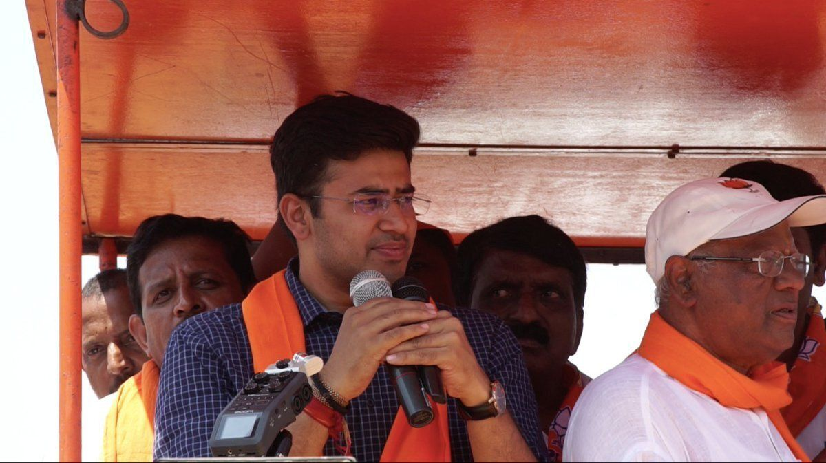 Election Results 2019: BJP's Tejasvi Surya Looks Set To Sweep Bangalore