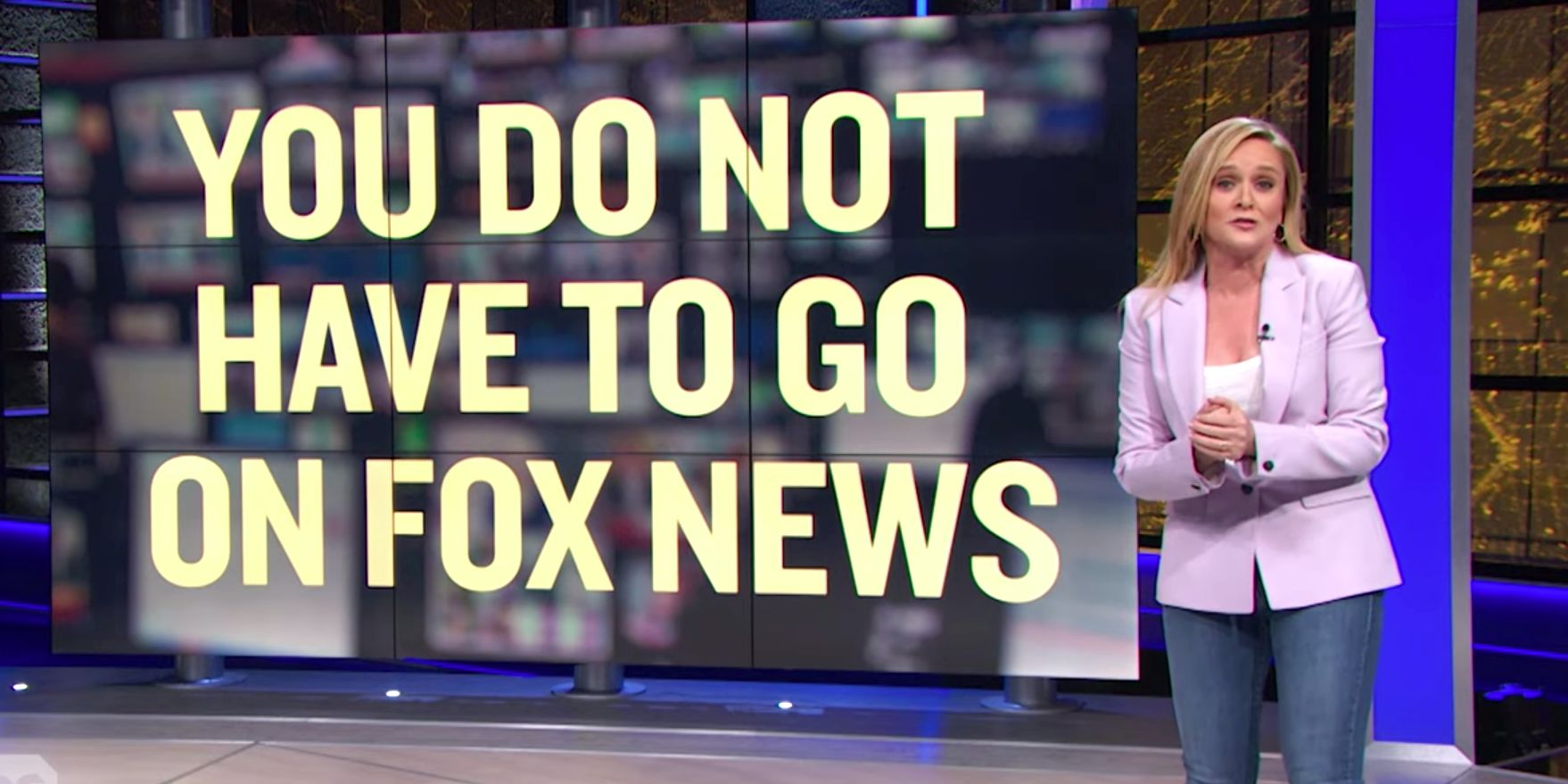 Samantha Bee Sends Blistering Message To Democrats About Fox Information