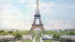 La Torre Eiffel sarà circondata da un gigantesco parco