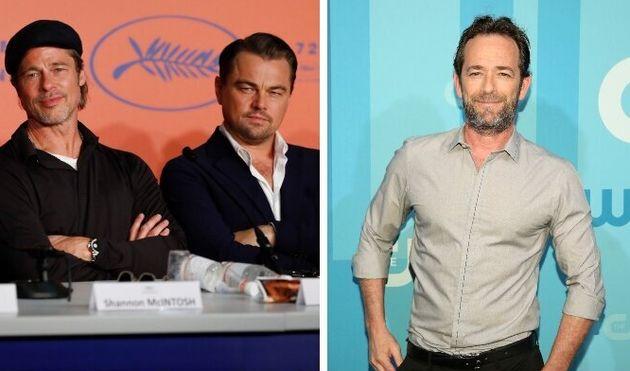 Pitt e DiCaprio omaggiano Luke Perry: