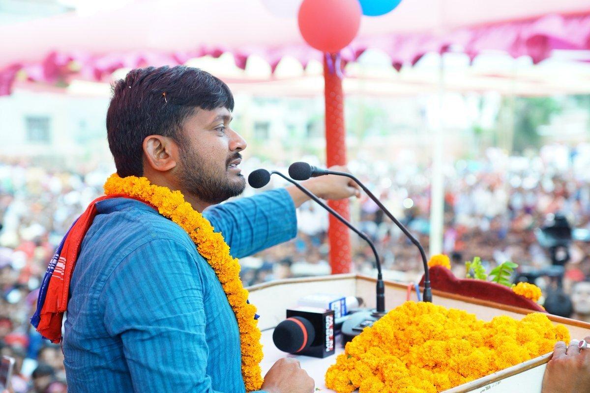 Kanhaiya Kumar Loses To BJP's Giriraj Singh In Begusarai By 4 Lakh