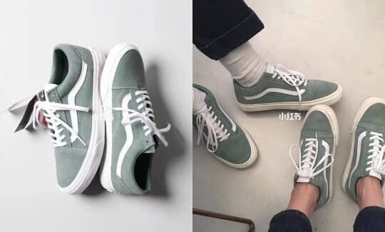 2019夏季「抹茶冰淇淋」球鞋