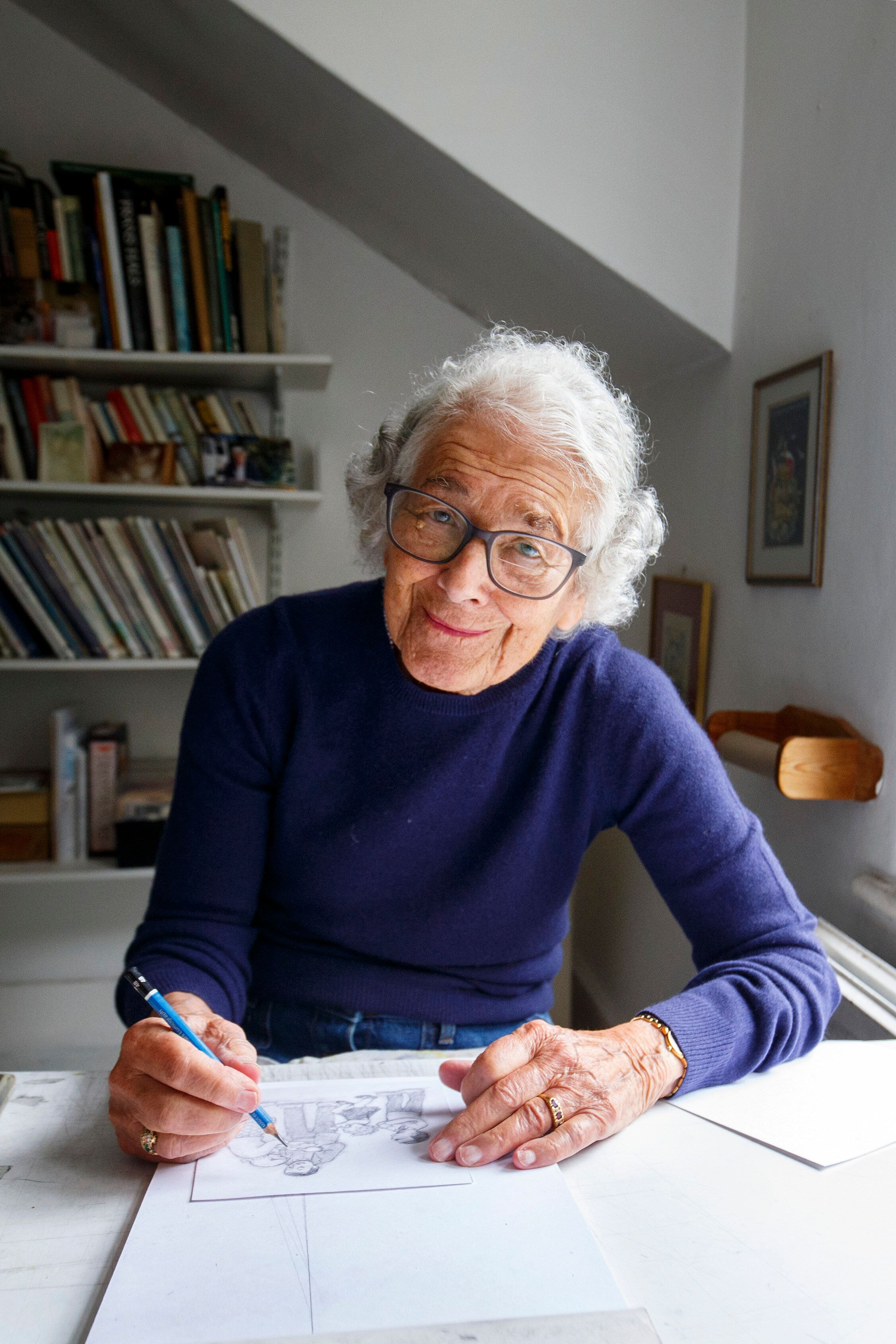 Judith Kerr, Author Of 'The Tiger Who Came To Tea,' Dies Age 95