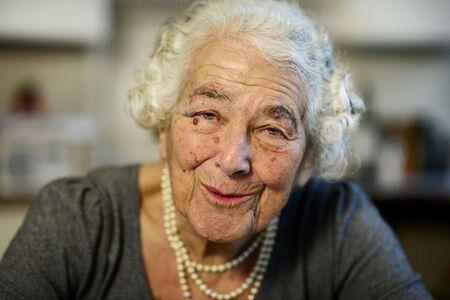 Judith Kerr avait fui enfant l'Allemagne avec sa famille en 1933 et s'était réfugiée...