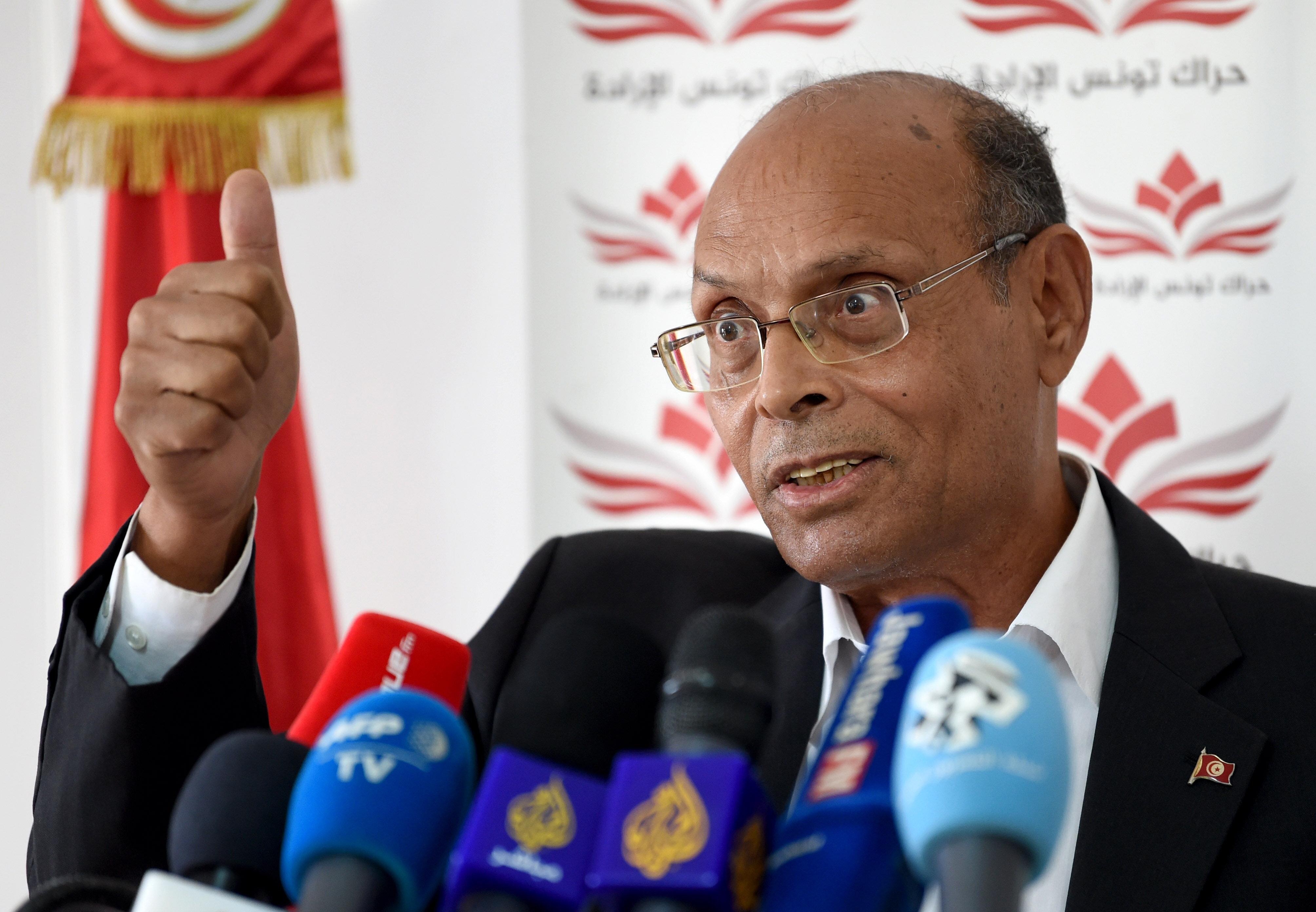 Présidentielle: Moncef Marzouki, candidat du parti Al-Harak et du mouvement