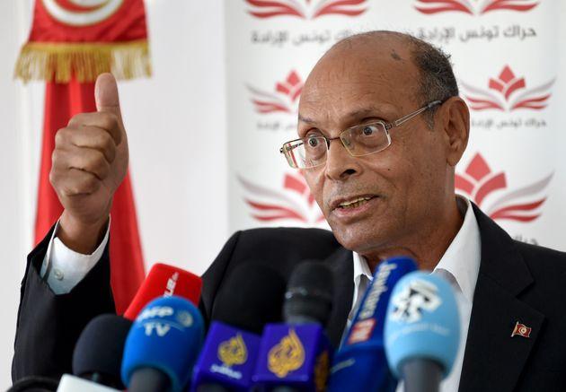 Présidentielle: Moncef Marzouki sera le candidat du parti Al-Harak et du mouvement Wafa, annonce Abderraouf