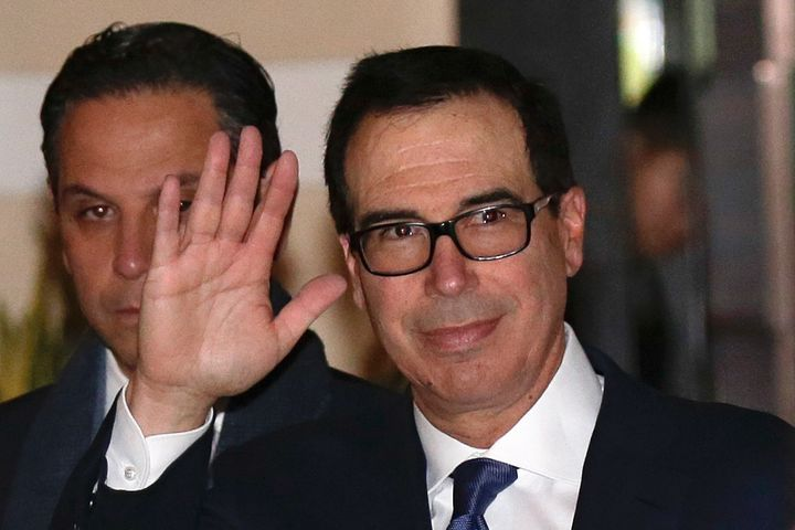 U.S. Treasury Secretary Steven Mnuchin has been named as a defendant in a lawsuit filed by Sears Holdings Corp. over his