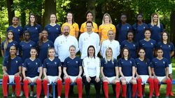 La photo officielle de l'équipe de France pour le Mondial