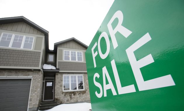 A home for sale is shown in Beckwith, Ont., on Jan. 11,