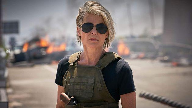 Linda Hamilton volta a interpretar Sarah Connor emO Exterminador do Futuro: Destino