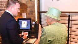 Queen Elizabeth At The Market Self-Checkout Is Simply