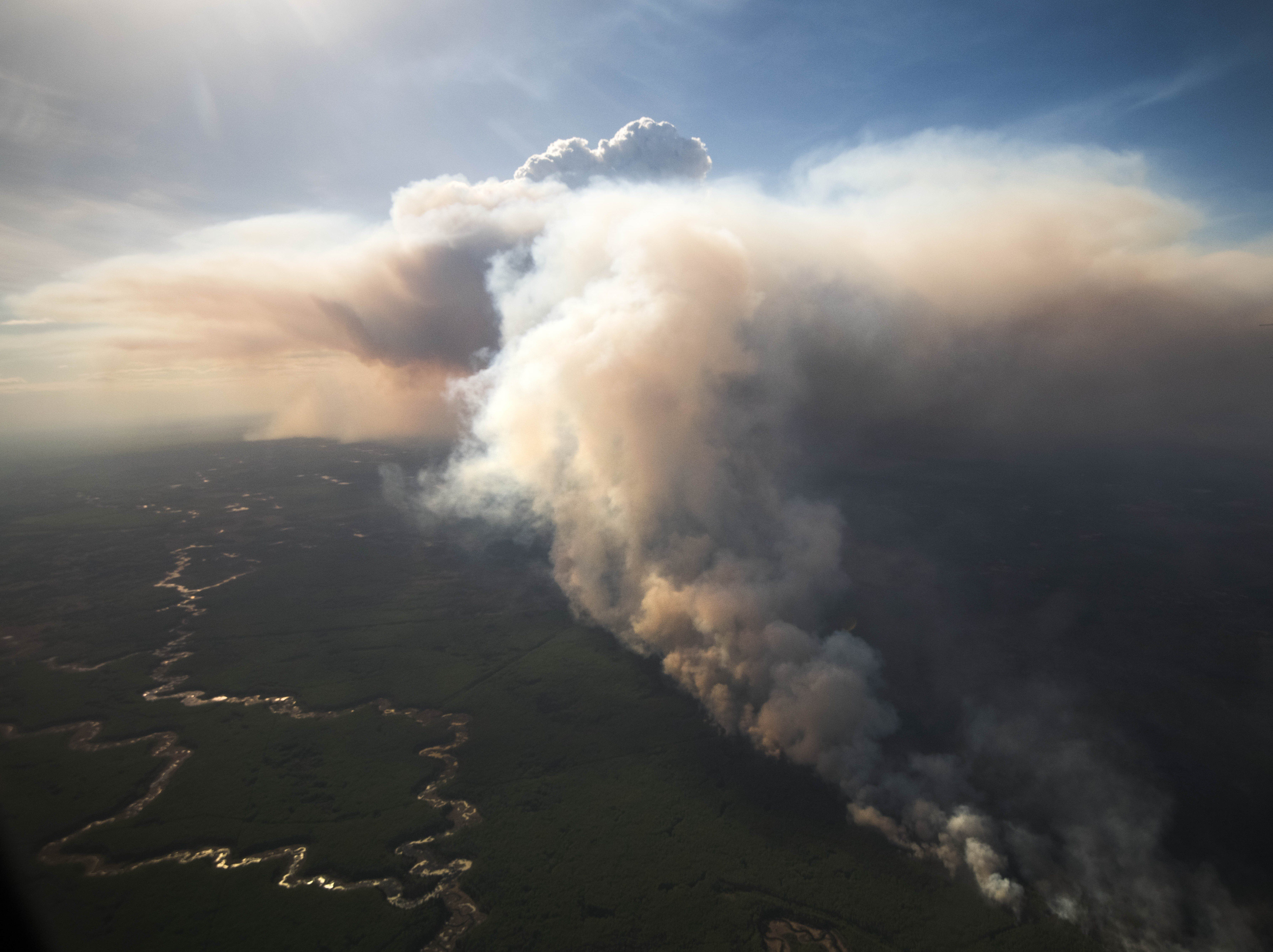 Alberta Town Fights Fire With Fire To Contain Out-Of-Control
