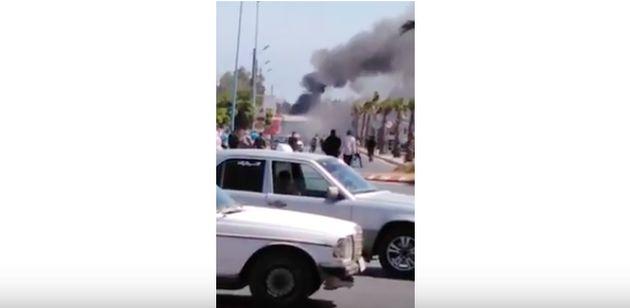 Casablanca: Incendie dans un bus à Aïn