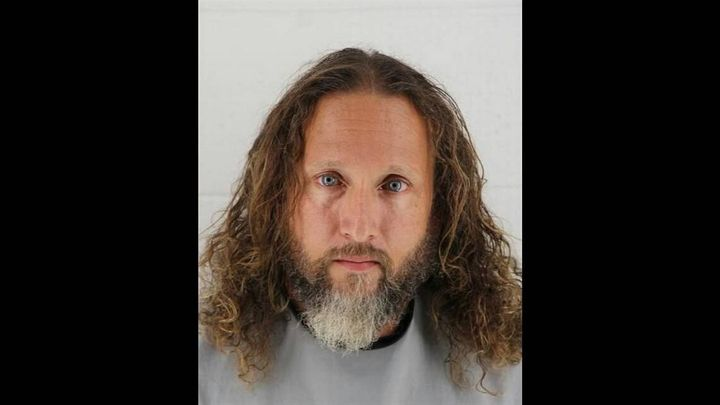 Dennis Regal Creason is pictured in this mug shot from the Johnson County Jail.