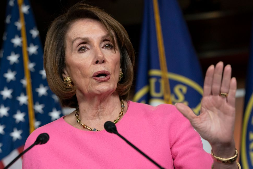 House Speaker Nancy Pelosi (D-Calif.) argues that it is not yet the time for Congress to launch an impeachment inquiry into P