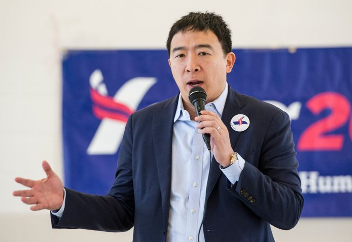 Andrew Yang has proposed a $1,000-a-month stipend for all U.S. citizens.