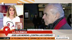 Encontronazo entre Carme Chaparro y José Luis Moreno en 'Cuatro al día':